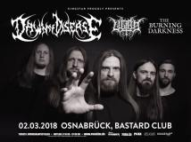Flyer Dawn of Disease Osnabrück